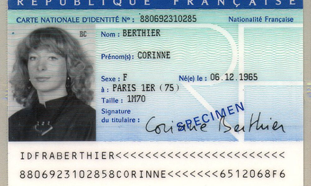 carte d'identite