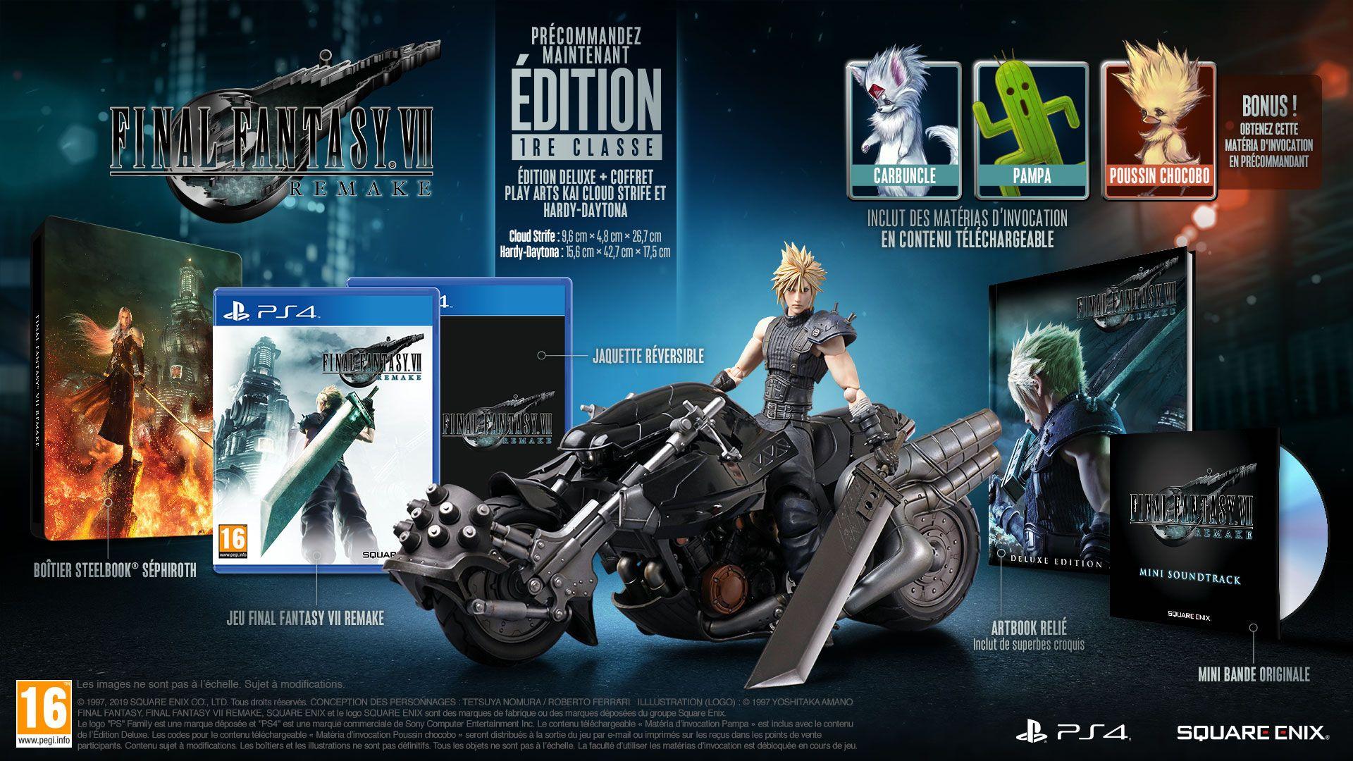 Final Fantasy VII Remake Collector