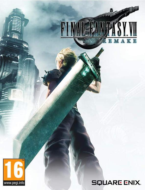 Jaquette Final Fantasy VII Remake