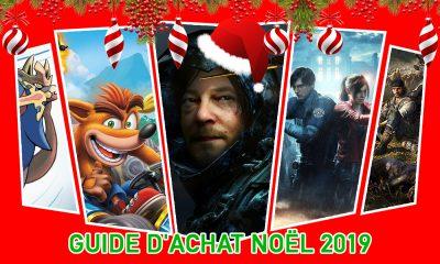 Guide d'achat Jeux Vidéo Noël 2019