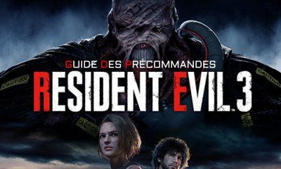 Guide Précommande Resident Evil 3 Remake