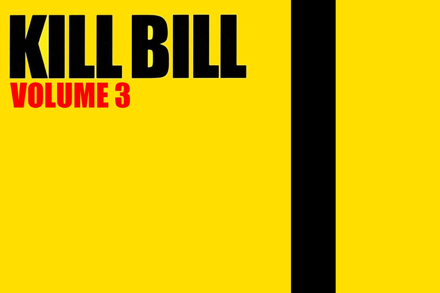 Kill Bill 3 Tease Tarantino