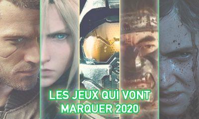 Les jeux vidéo qui vont marquer 2020