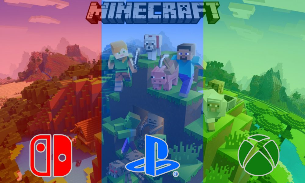 Minecraft Cross Plateforme PS4