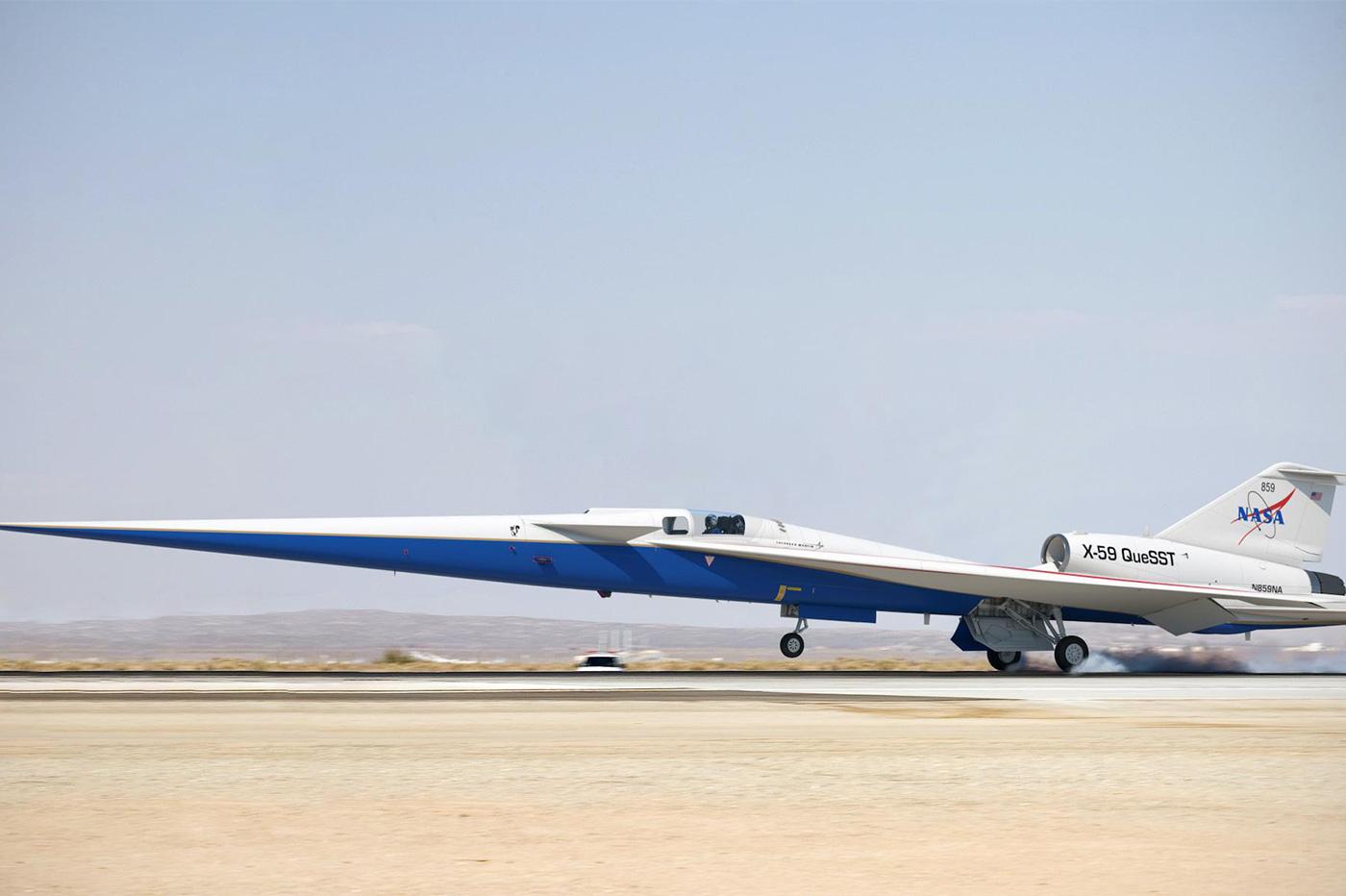 NASA Concorde x59 queSST
