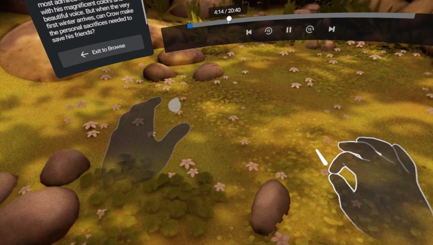Oculus Quest : La reconnaissance des mains pour cette semaine