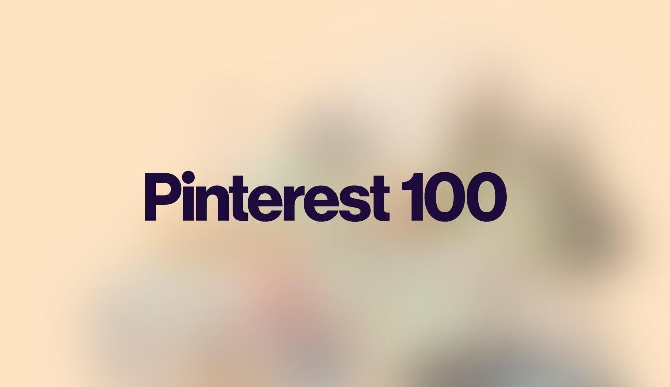pinterest 100