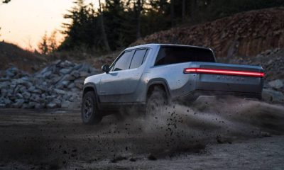 Rivian pick up electrique