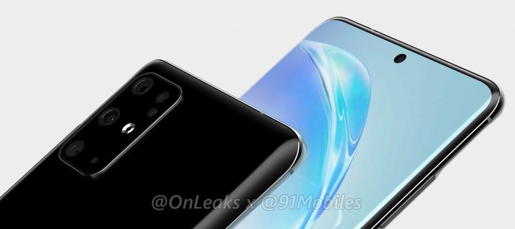 Samsung Galaxy S11 rendus