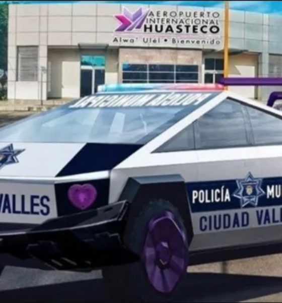 tesla cybertruck mexique