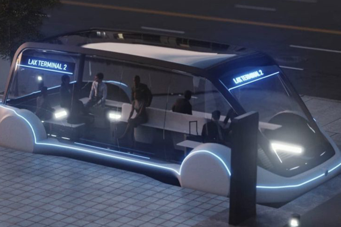 Tesla transports en commun