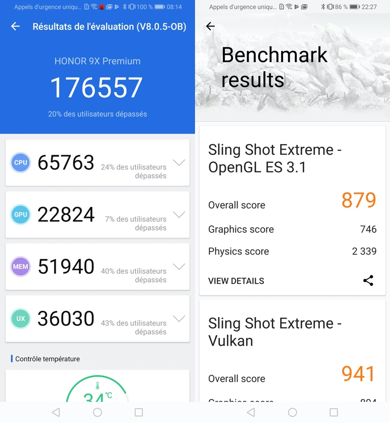 test honor 9x benchmarks