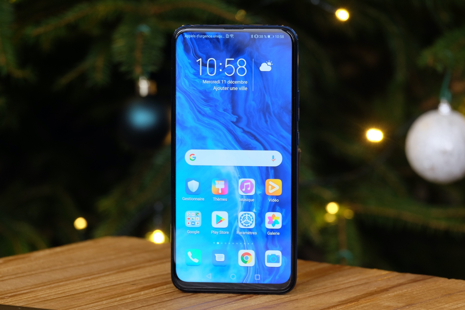 test honor 9x ecran