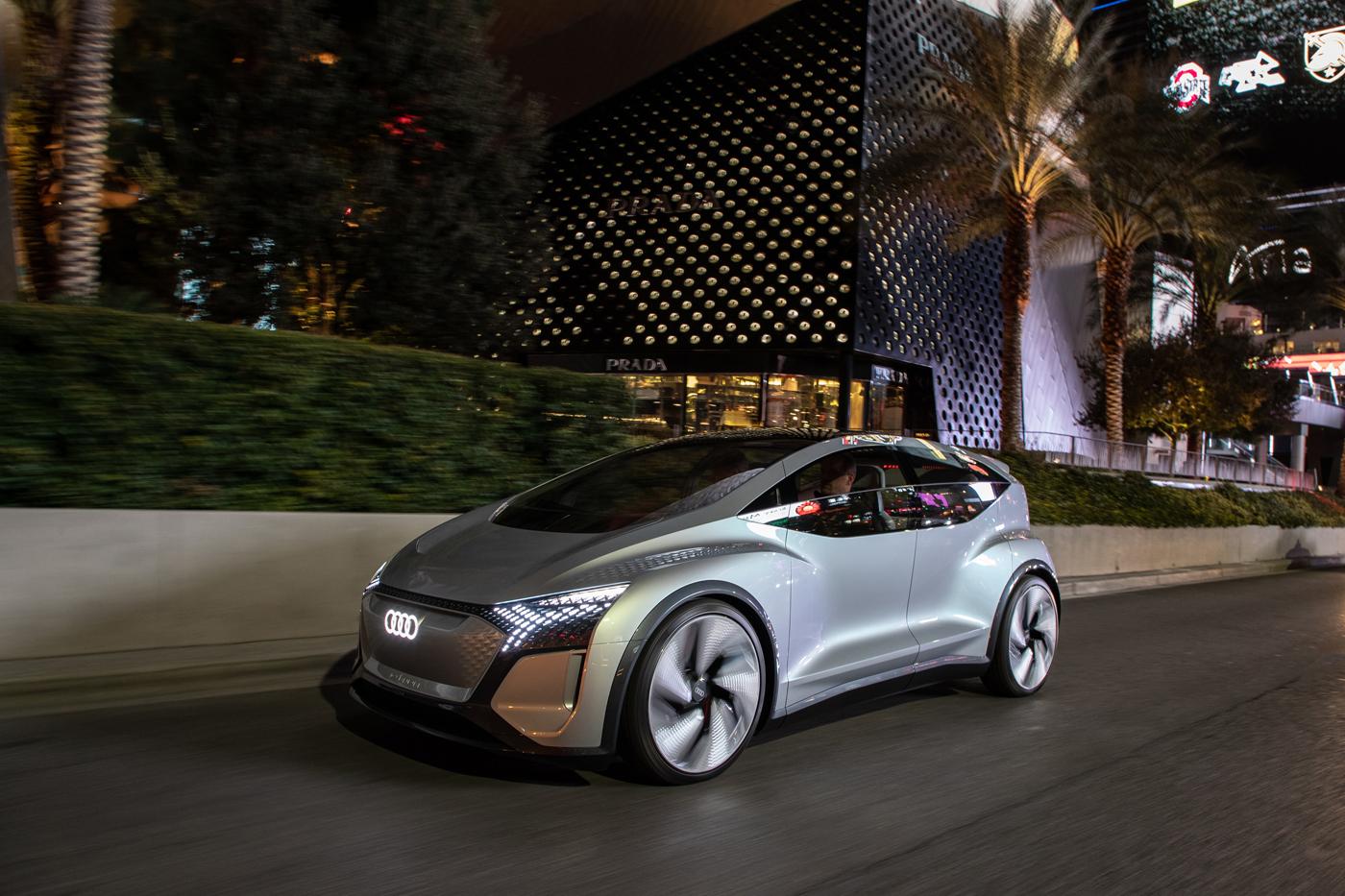 Le Concept Audi AI:ME du CES 2020