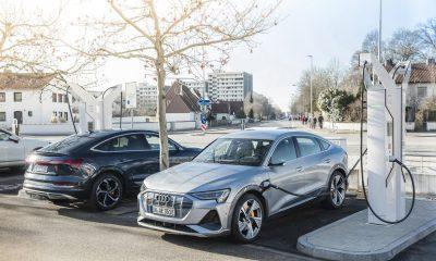 Audi Electrique Borne