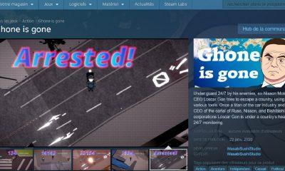 Capture d'écran sur Steam