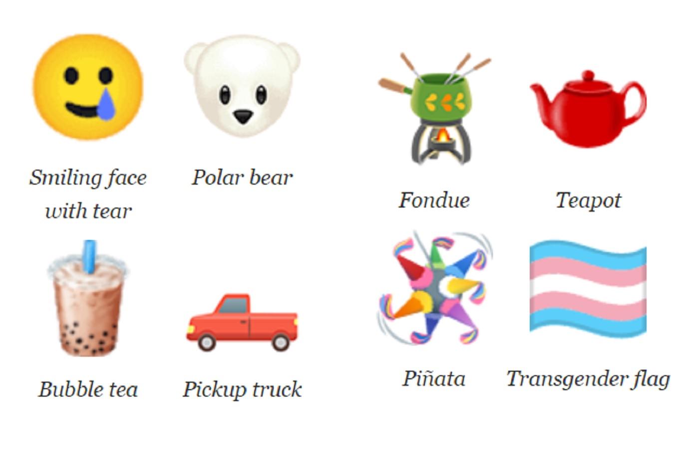 De nouveaux emojis arrivent en 2020