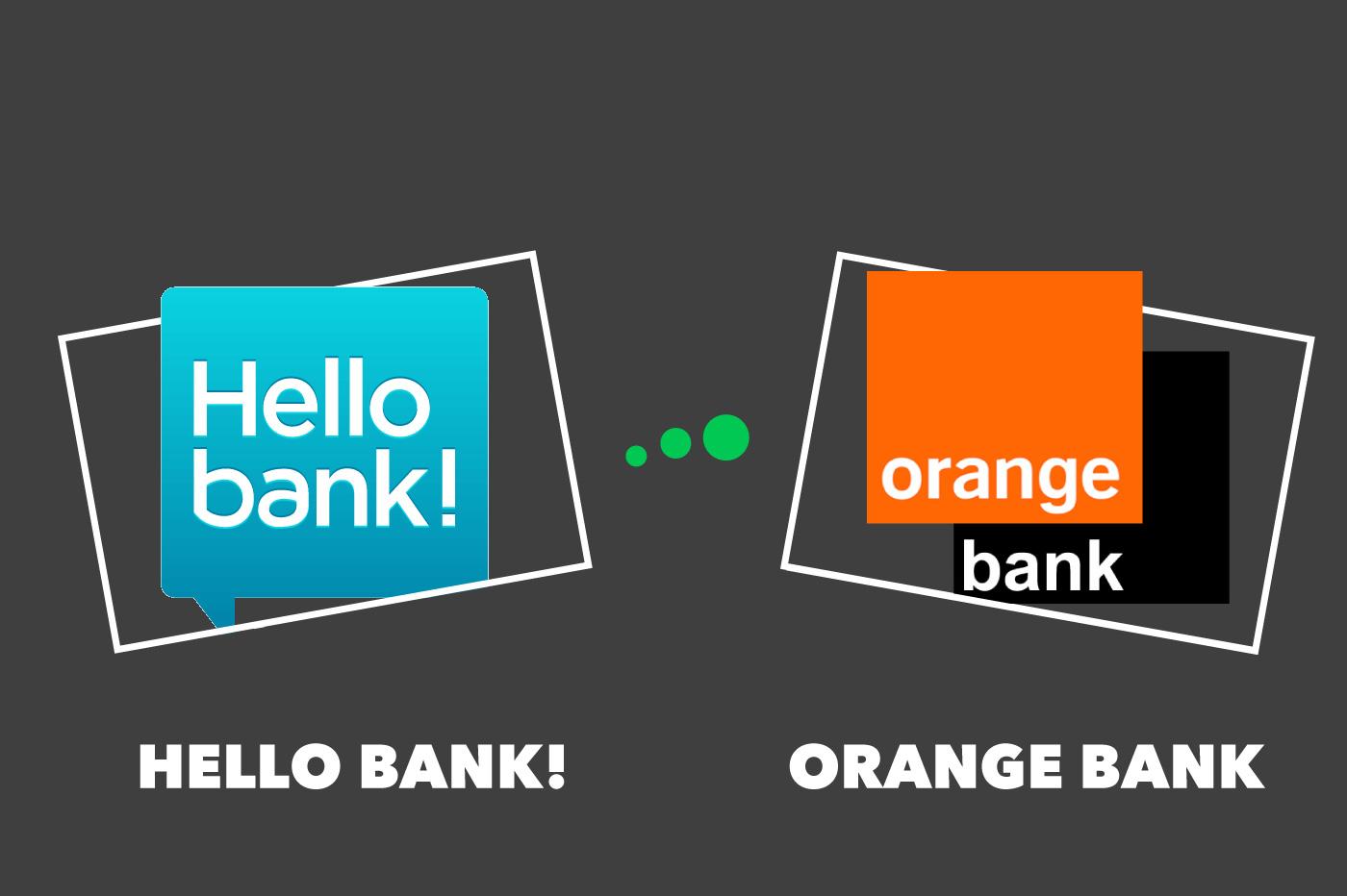 Comparatif Hello bank! vs Orange Bank