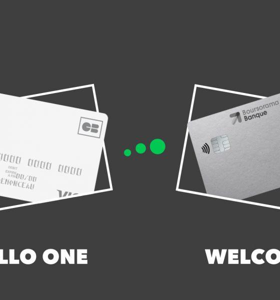 Hello One vs Boursorama Welcome