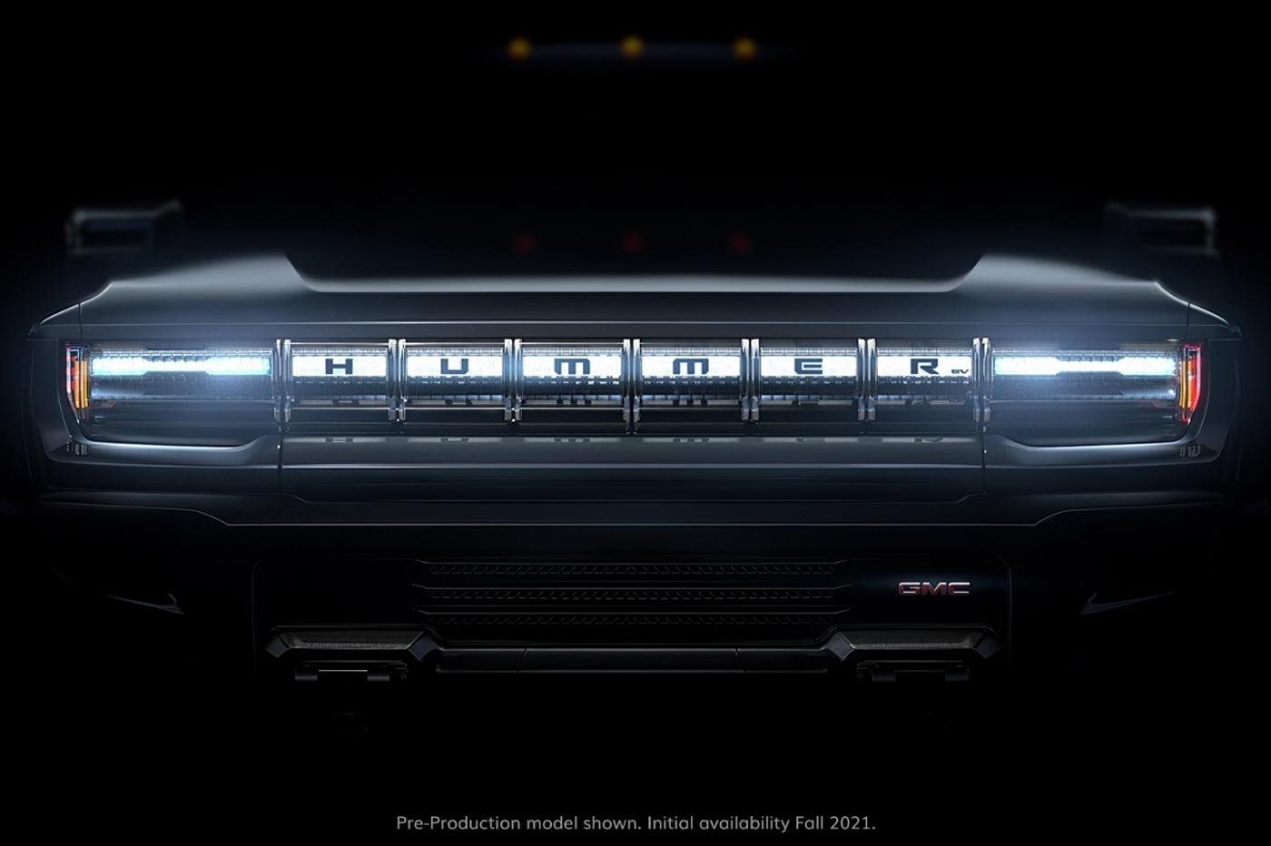 Le Hummer 100% électrique