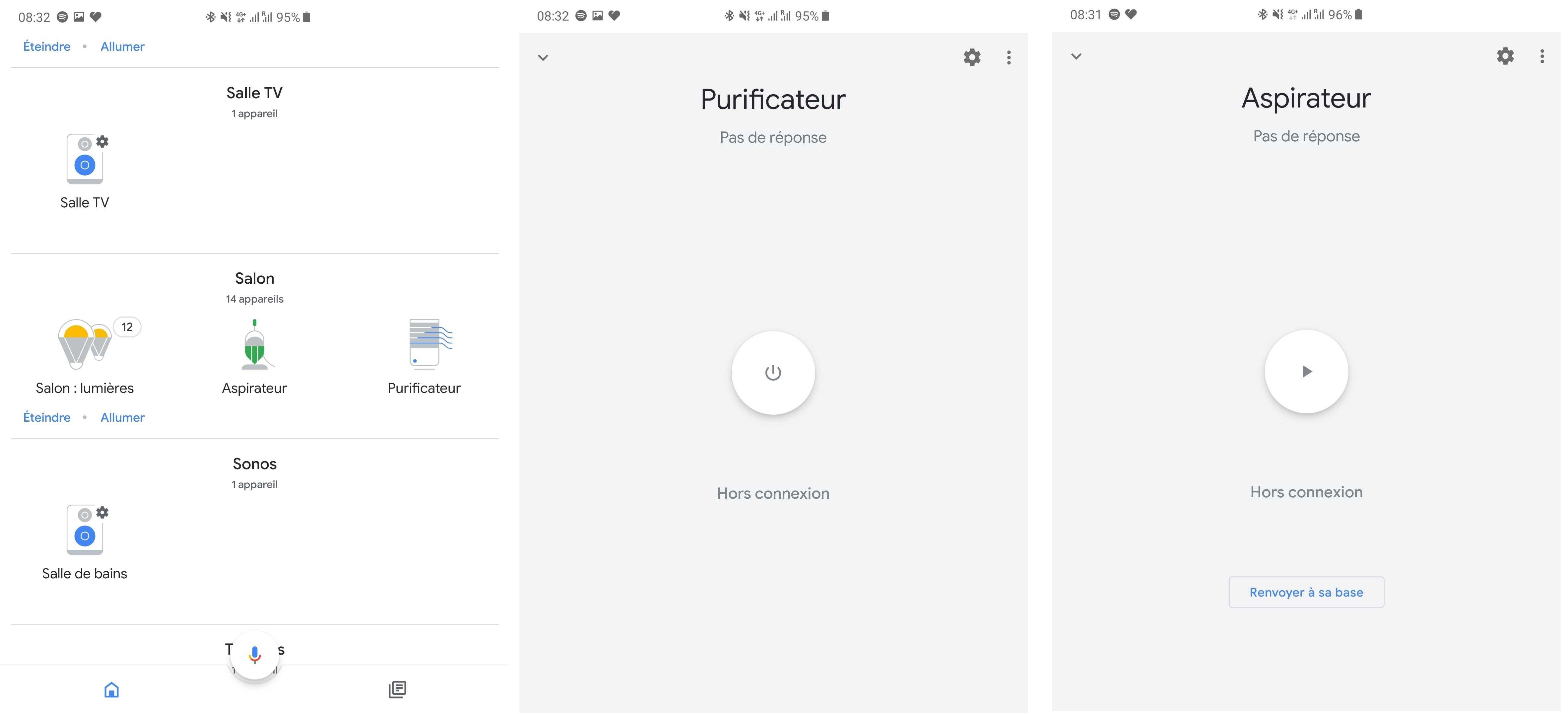 Les appareils Xiaomi sur Google Home