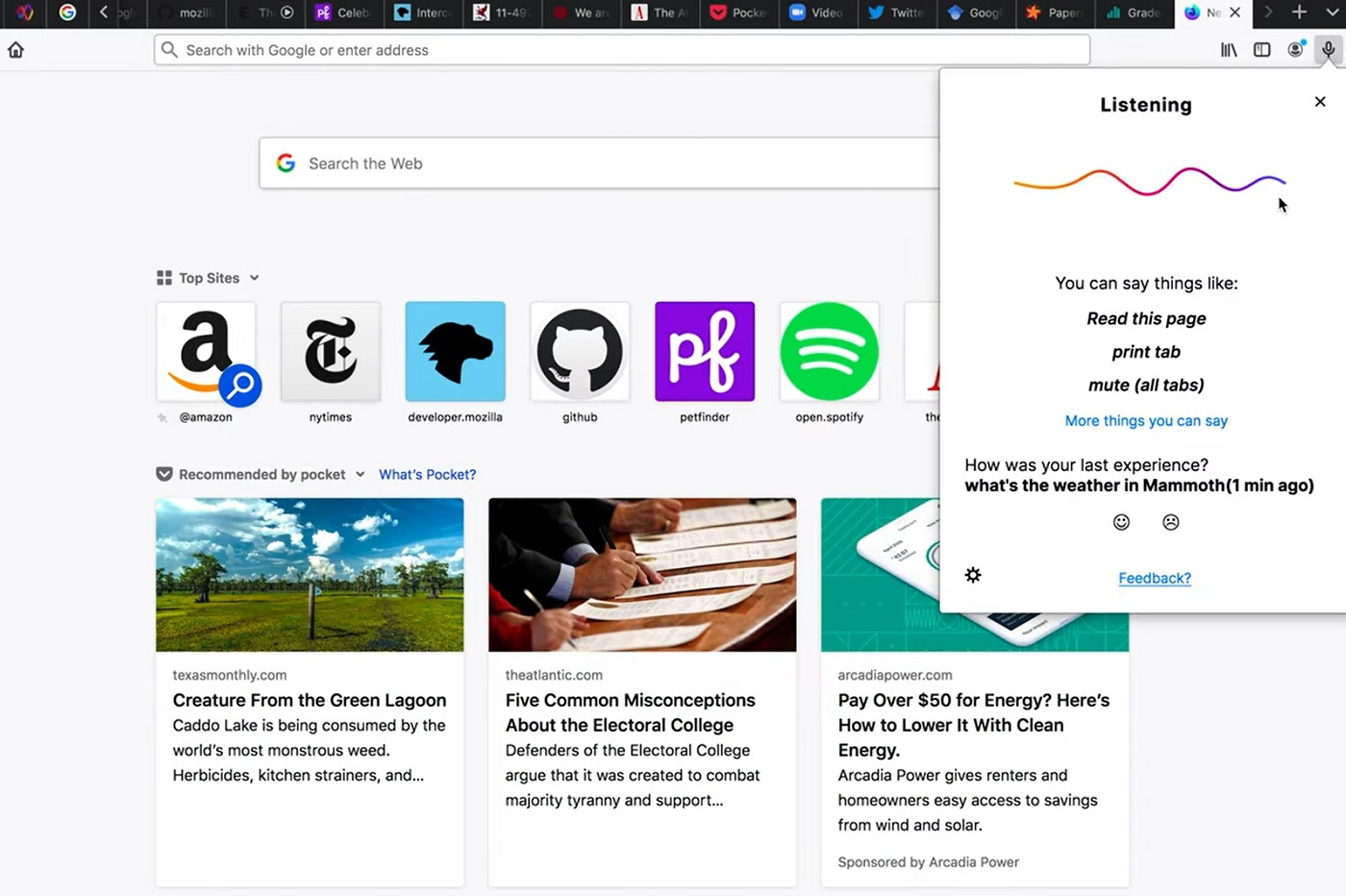 Firefox Voice, un concurrent de Siri, Alexa et Assistant sur le navigateur