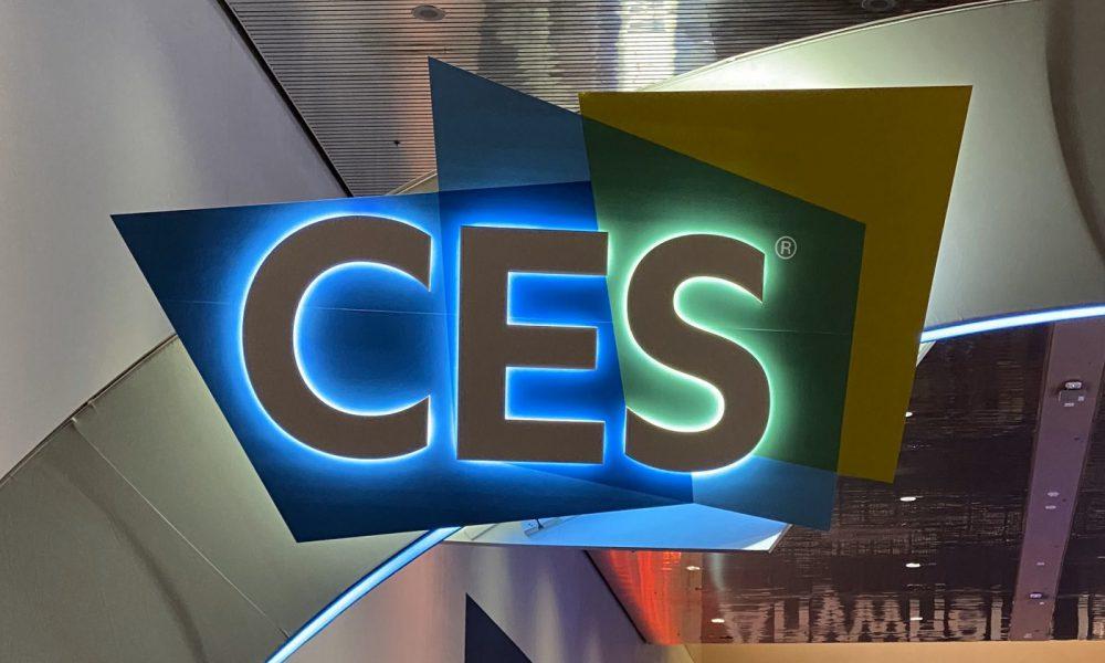 Photo du CES de Las Vegas 2020 sur le compte Twitter de Presse Citron