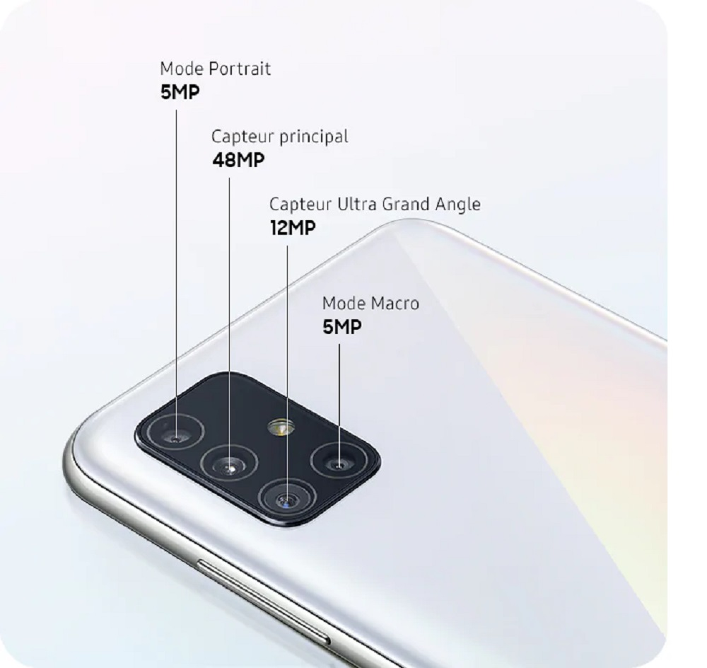 Samsung Galaxy A51 : avis, prix et caractéristiques du smartphone
