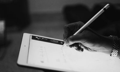 Un Apple Pencil et un iPad