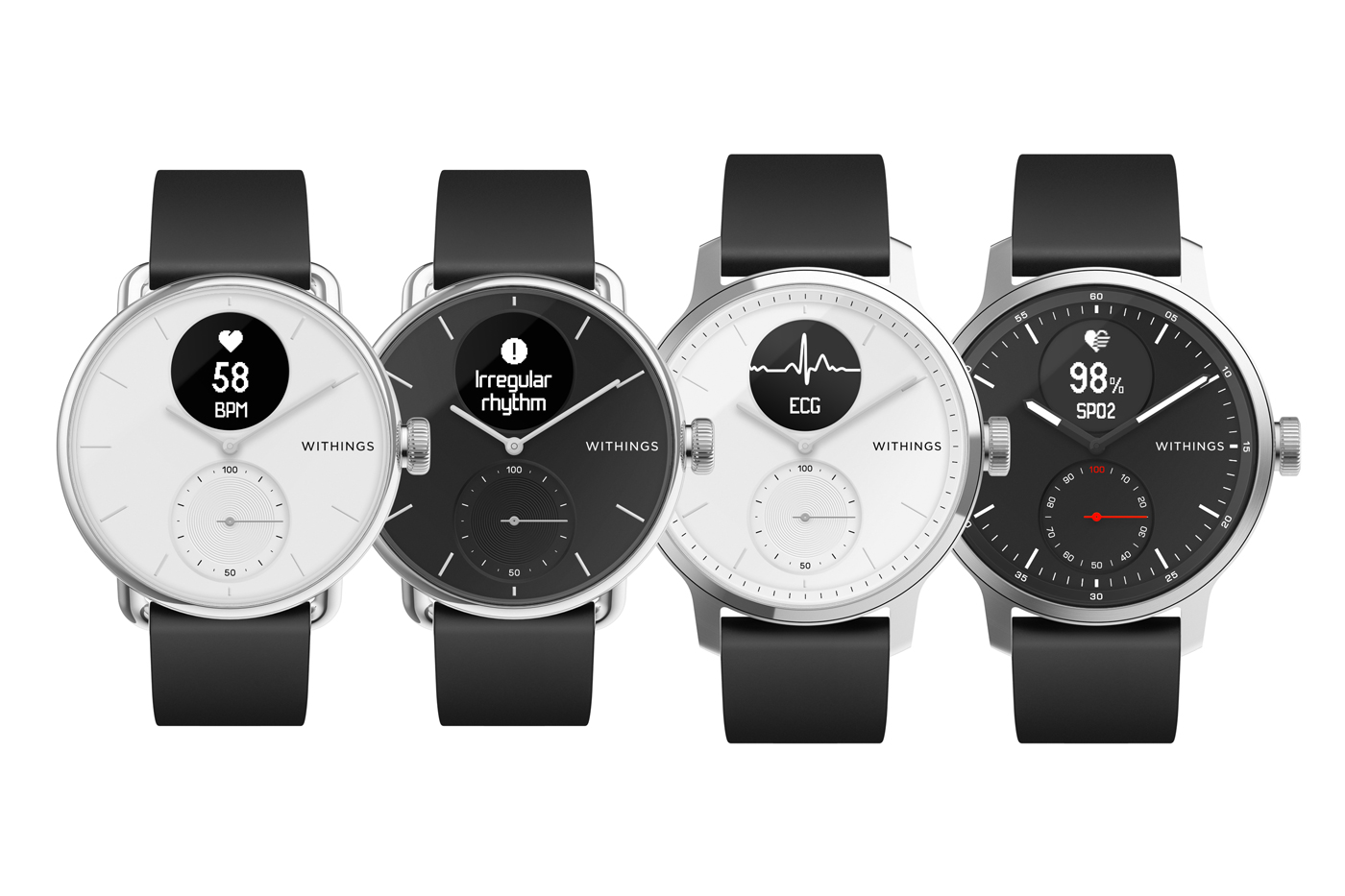 Nouvelle montre Withings ScanWatch