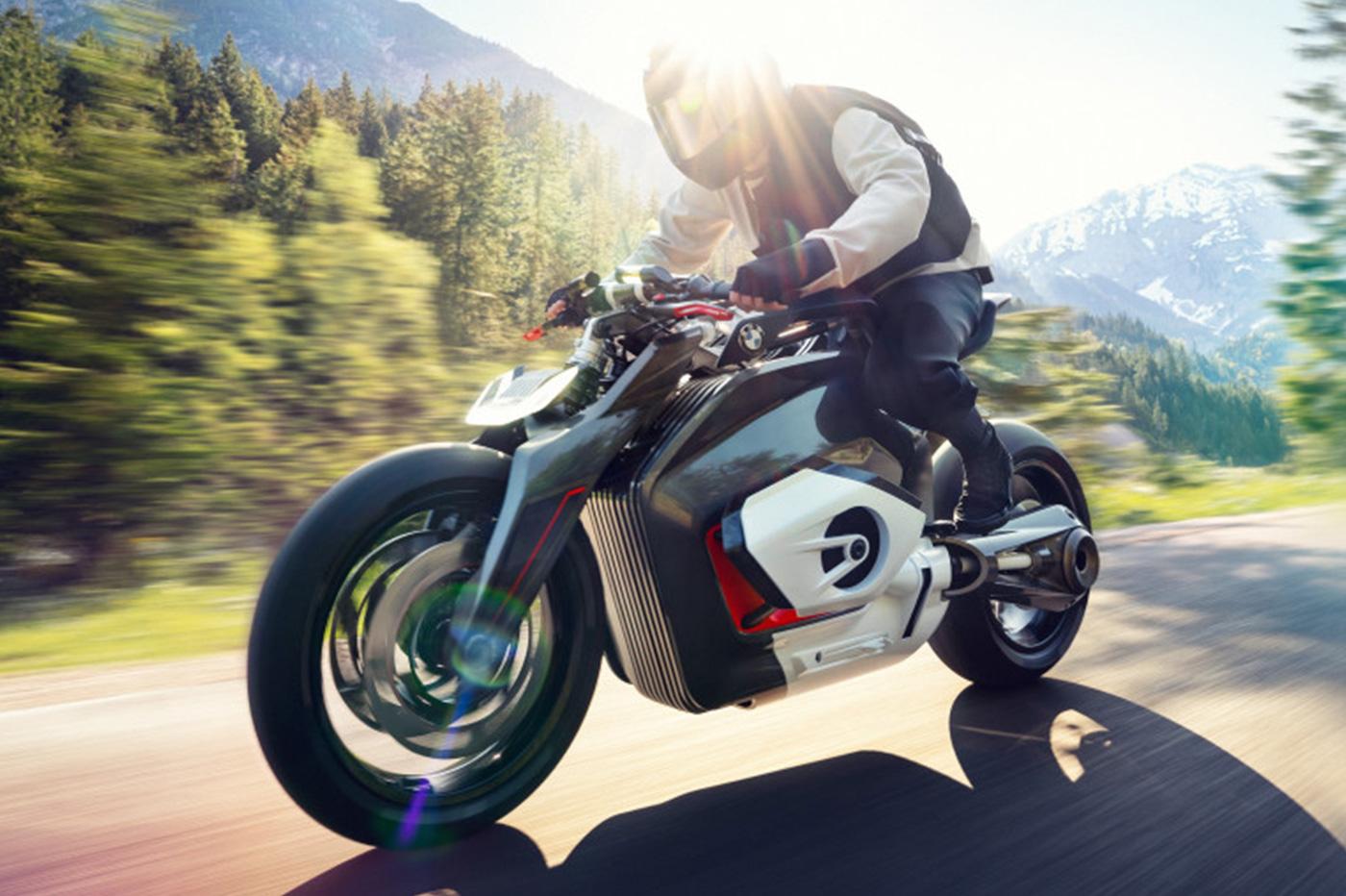 BMW moto électrique Vision DC Roadster