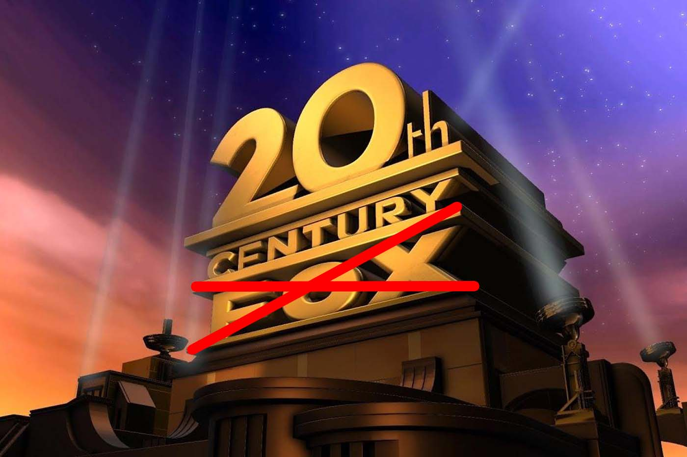 Changement Logo 20th Century Fox
