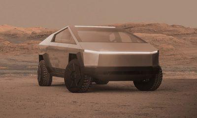 Cybertruck Mars