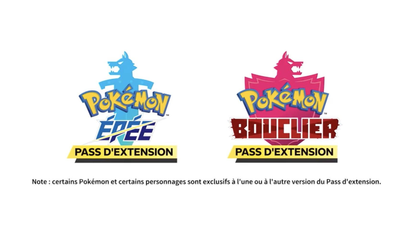 DLC Versions Pokémon Epee Pokemon Bouclier