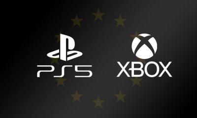 Drapeau Europe PS5 et Xbox