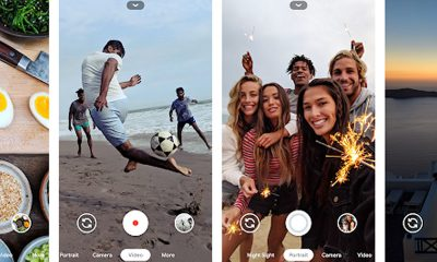 Appareil photo Google Android