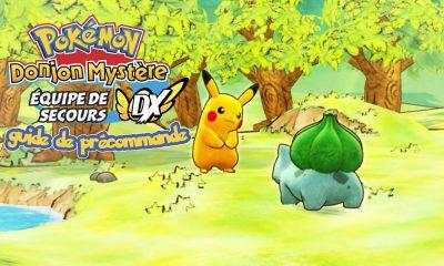 Guide Précommande Pokémon Donjon Mystères Equipe de Secours DX Switch