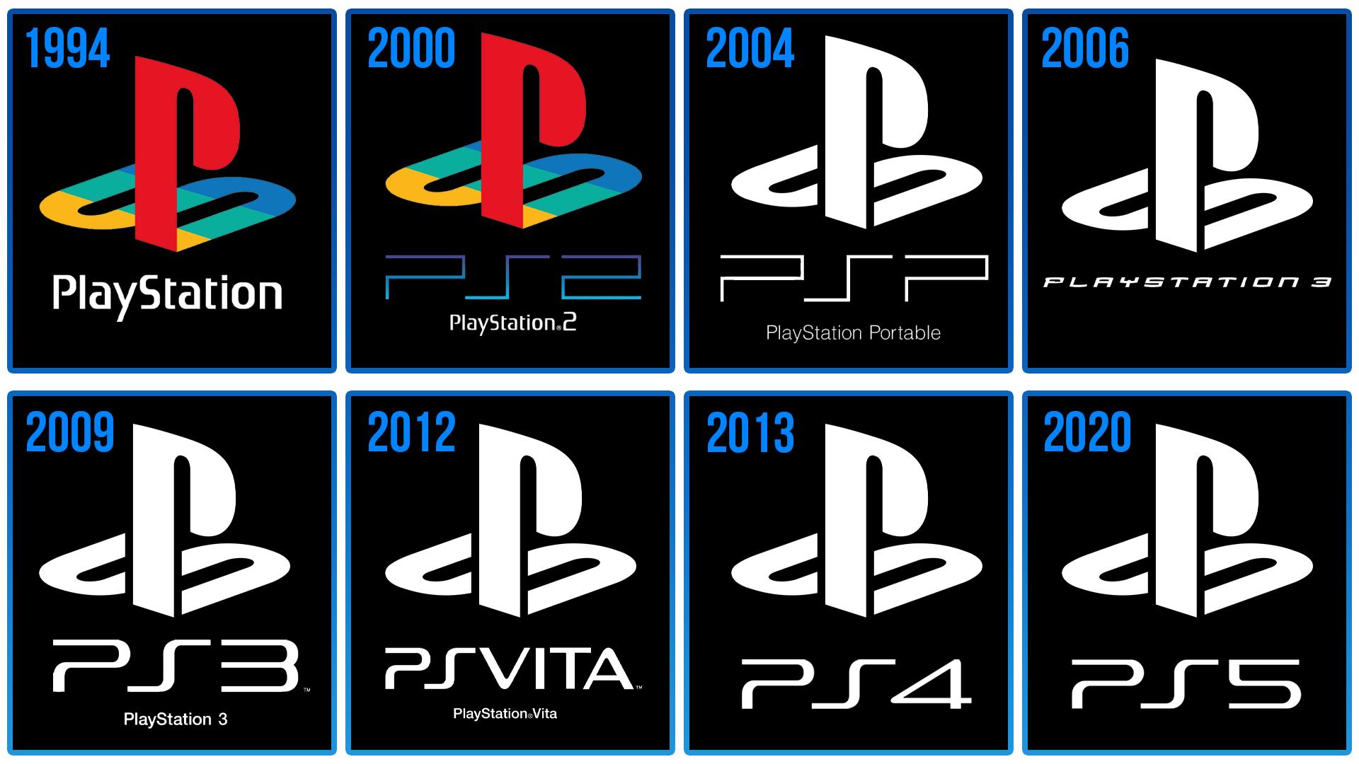 Logos PlayStation