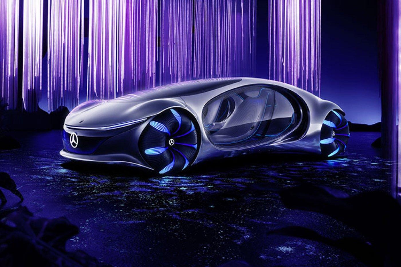 mercedes concept car avatar