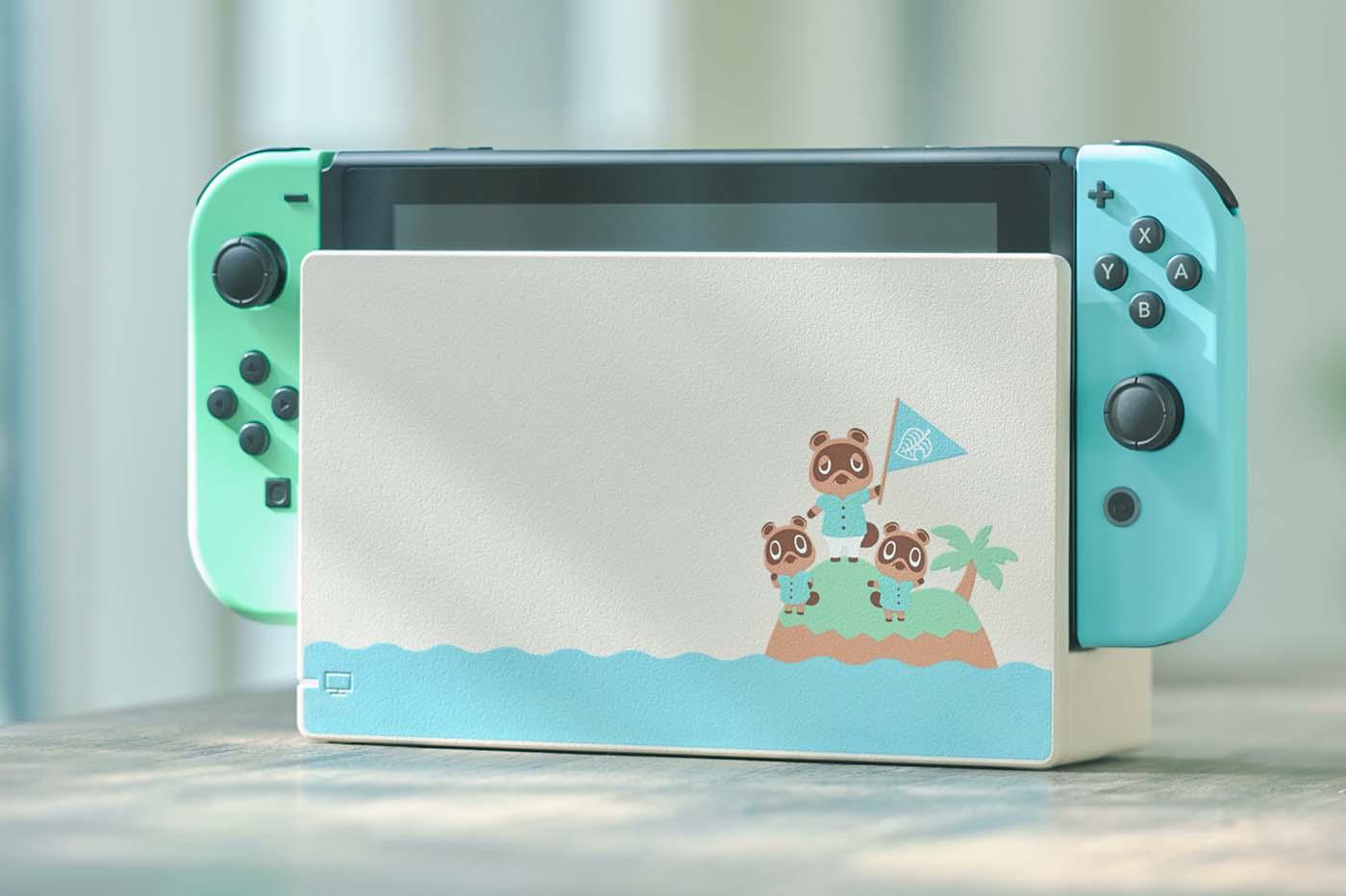 Nintendo Switch  Aloha Edition Animal Crossing