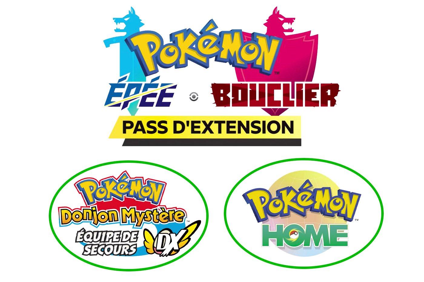 Nouveau jeu Pokémon, DLC Pokémon Epee Pokémon Bouclier