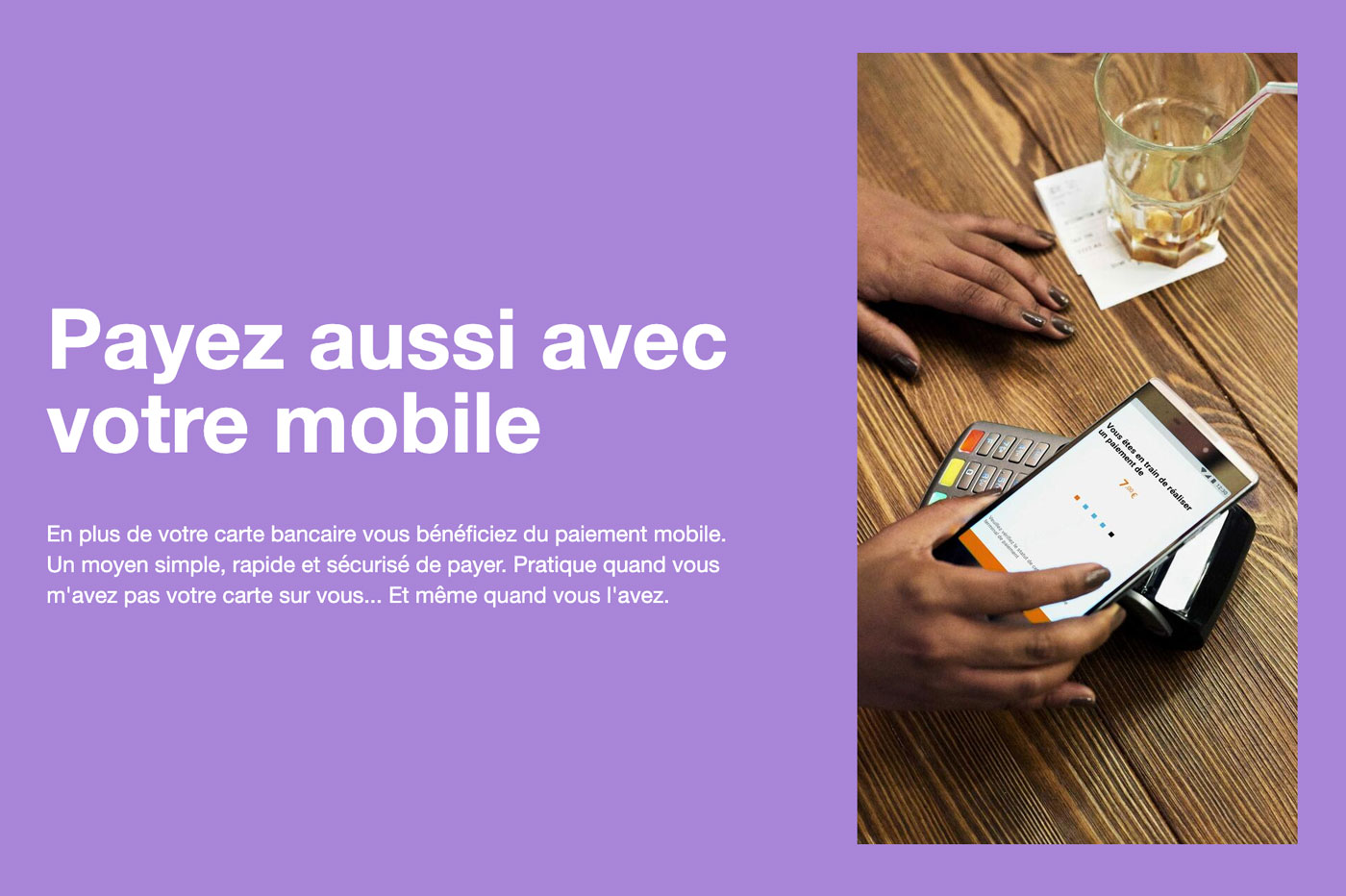Paiement mobile Orange Bank