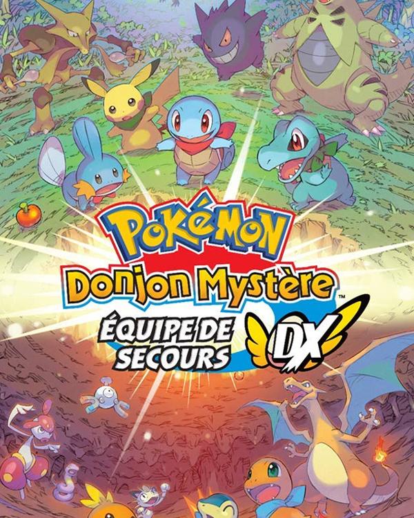Jaquette Pokemon Donjon Mystere Equipe Secours DX