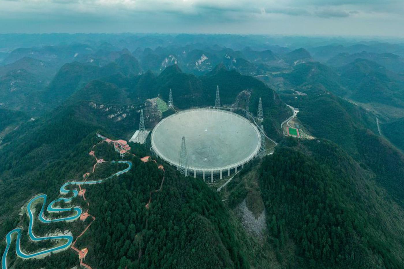 radiotelescope chine