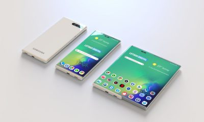 samsung smartphone enroulable