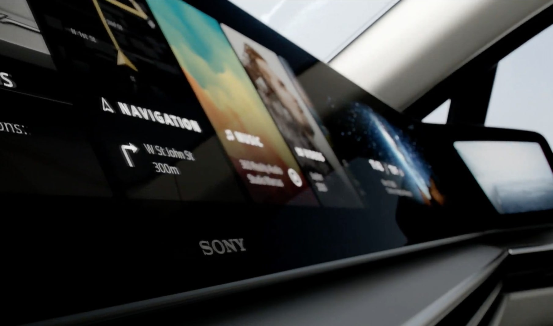 Sony Vision S habitacle