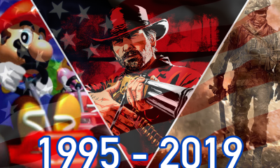 Top jeux vidéo USA 1995 2019 NPD Group