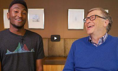 Bill Gates Marques Brownlee