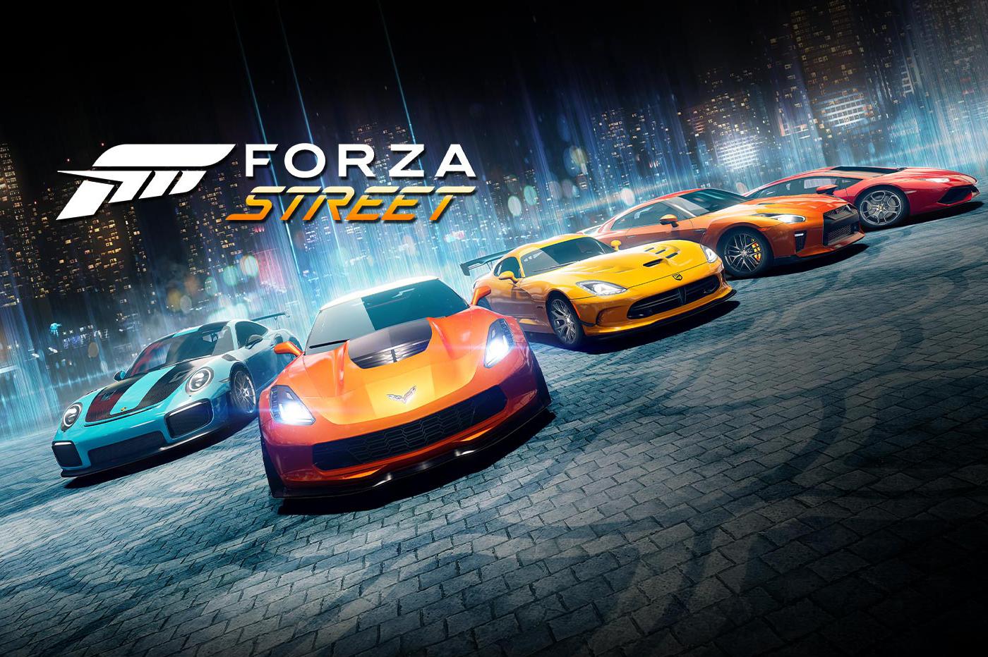 Jeu mobile Forza Street