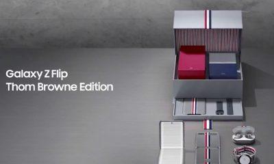 Fuite du Galaxy Z Flip Thom Browne Edition